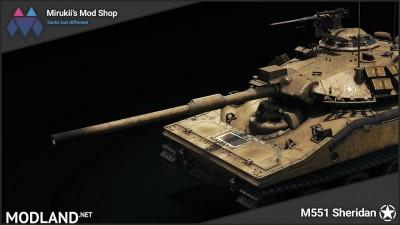 Mirukii's M551 Sheridan Remodel [1.5.1.0], 3 photo